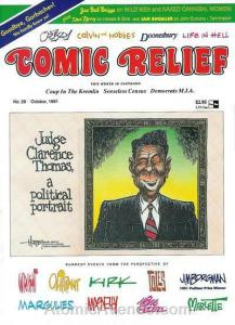 Comic Relief (magazine) #28 FN; Page One | save on shipping - details inside