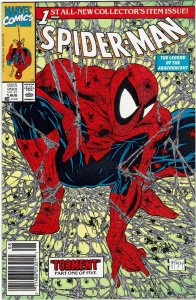 Spider-Man #1 (1990 v1) Todd McFarlane Newsstand UPC NM