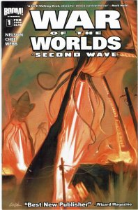 Second Wave: War Of The Worlds #1 Boom! NM