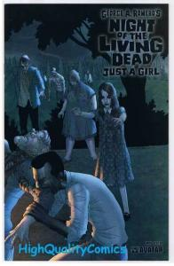 NIGHT of the LIVING DEAD 1, Just a Girl, NM+, George Romero, 2007, Wraparound