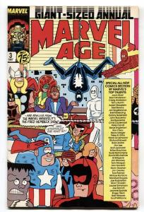 Marvel Age Annual #3 1st appearance Mister Jip-Cloak and Dagger 1987