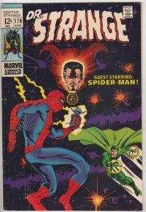 Doctor Strange #179 (Apr-69) FN/VF Mid-High-Grade Dr. Strange in full costume