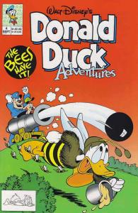 Donald Duck Adventures (Disney) #4 VF/NM; Disney | save on shipping - details in