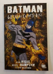 BATMAN GOTHAM COUNTY LINE TPB SOFT COVER FIRST PRINT STEVE NILES DC