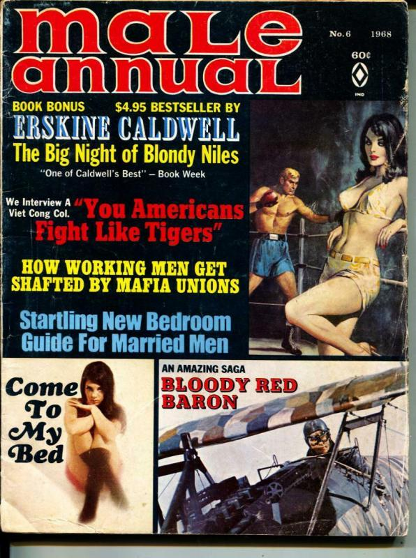 Male Annual-1968-Pussycat-Bombers-Boxer-Sex-Adventure