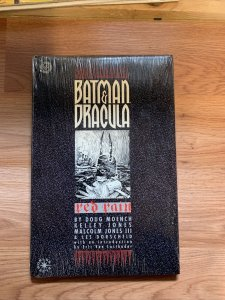 Batman And Dracula: Red Rain Hardcover w/Dust Jacket 1st Edition 1st Printing