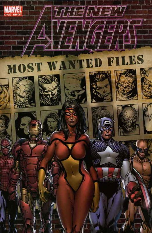 New Avengers, The: Most Wanted Files #1 VF; Marvel | save on shipping - details