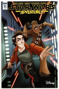 Star Wars Adventures #11 1:10 RI Variant (IDW, 2018) VF/NM