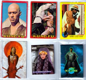 Dick Tracy/Kung Fu/Star Wars/Meteor Man Trading Cards