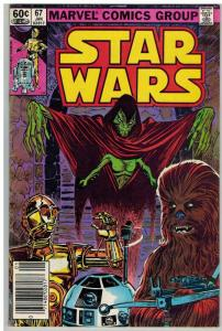 STAR WARS 67 VG-F Jan. 1983