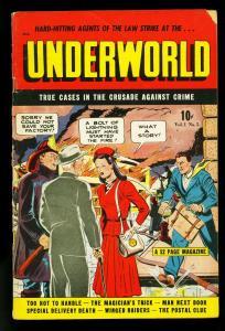 Underworld Comics #5 1948-Golden Age Crime- Breeze Lawson- G/VG