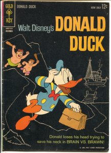 Donald Duck #85 1962-1st Gold Key issue-black cover-elusive-VG