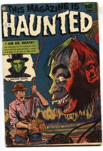 This Magazine Is Haunted #10 1953-Fawcett-comic book-Severed head cover