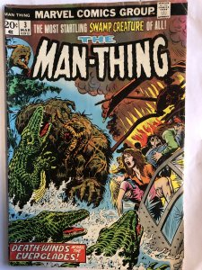 The Man-Thing #3,VF, 1st Foolkiller...