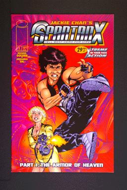 Jackie Chan's SpartanX Hell-Bent-Hero-For-Hire #1 March 1998