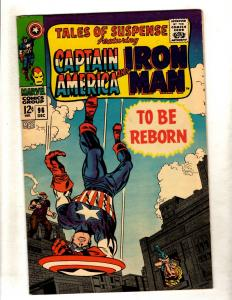Tales Of Suspense # 96 VF/NM Marvel Comic Book Iron Man Captain America FM3