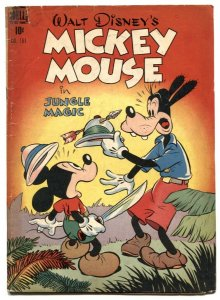 Mickey Mouse in Jungle Magic- Four Color Comics #181 VG