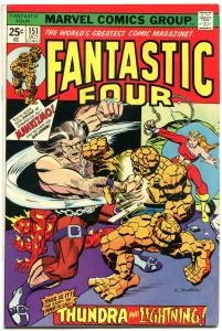 FANTASTIC FOUR #151 152 153 154, VF, Thundra, 1961, more FF in store, QXT