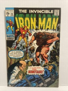 Iron Man #24 - 1st Appearance Minotaur