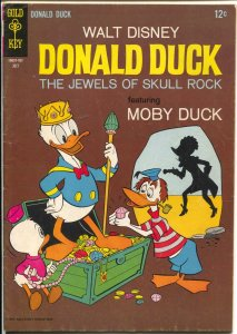 Donald Duck #114 1967-Moby Duck-Jewels of Skull Rock-VG