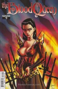 Blood Queen #3B VF; Dynamite | save on shipping - details inside