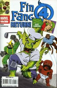 Fin Fang Four Return! #1 FN; Marvel   save on shipping - details inside