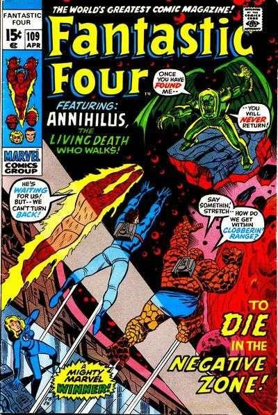 Fantastic Four (1961 series) #109, VF- (Stock photo)