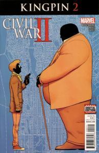 Civil War II Kingpin #2 (Marvel, 2016) NM