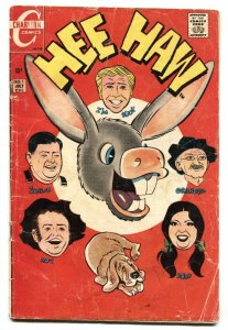 Hee Haw #1 1970- Charlton Bronze Age-First issue
