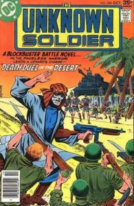 Unknown Soldier (1977 series) #208, VF- (Stock photo)
