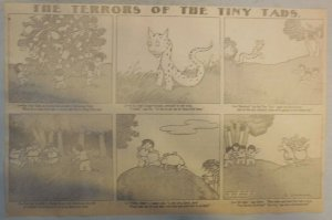 The Terrors of the Tiny Tads by Gustave Verbeek from ?/1907 Half Page Size!
