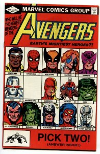 Avengers #221 1982 SHE-HULK joins the Avengers NM-