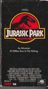 Jurassic Park VHS   Dinosaurs Are Back !
