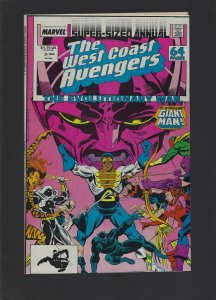 West Coast Avengers Annual #3 (1988)