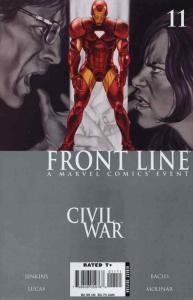 Civil War: Front Line #11 FN; Marvel | save on shipping - details inside