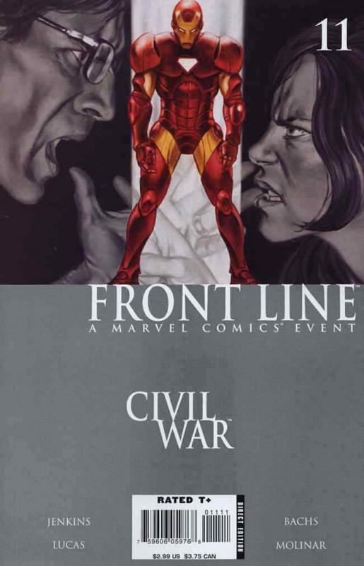 Civil War: Front Line #11 FN; Marvel   save on shipping - details inside
