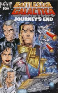 Battlestar Galactica: Journey's End #3 VF/NM; Maximum | save on shipping - detai
