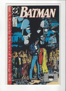 BATMAN #441 LONELY PLACE OF DYING PT2 COPPER AGE COMIC  NM Nice Copy