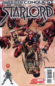 Annihilation: Conquest-Starlord #4 VF/NM; Marvel | save on shipping - details in