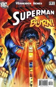 Superman #218 (ungraded) 2nd series stock image ID#B-4