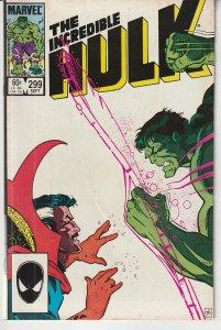 Incredible Hulk(vol. 3)# 299   Hulk vs Dr. Strange !