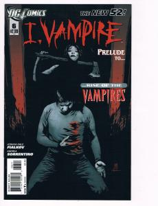 I Vampire # 6 DC Comic Books Hi-Res Scans The New 52 Awesome Issue WOW!!!!!! S12