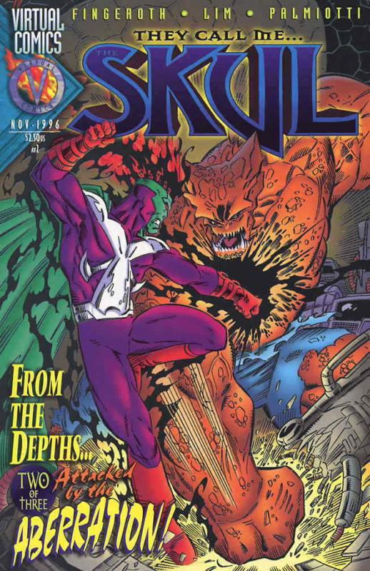 They Call Me…The Skul #2 VF/NM; Virtual | save on shipping - details inside
