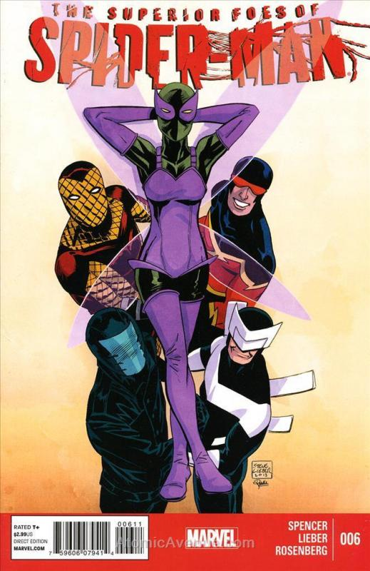 Superior Foes of Spider-Man, The #6 VF; Marvel | save on shipping - details insi