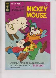 Walt Disney's Mickey Mouse #120 VF- february 1969 - silver age gold key comics