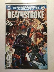 Deathstroke Rebirth 1 Near Mint Nm Dc Comics