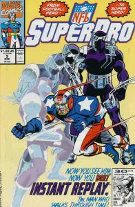 NFL Superpro #3 VF; Marvel | save on shipping - details inside