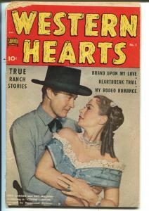 Western Hearts #5 1950-Standard-John Severin-Bill Elder-Sam Houston-G