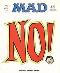 Mad (1952 series) #147, VF- (Stock photo)