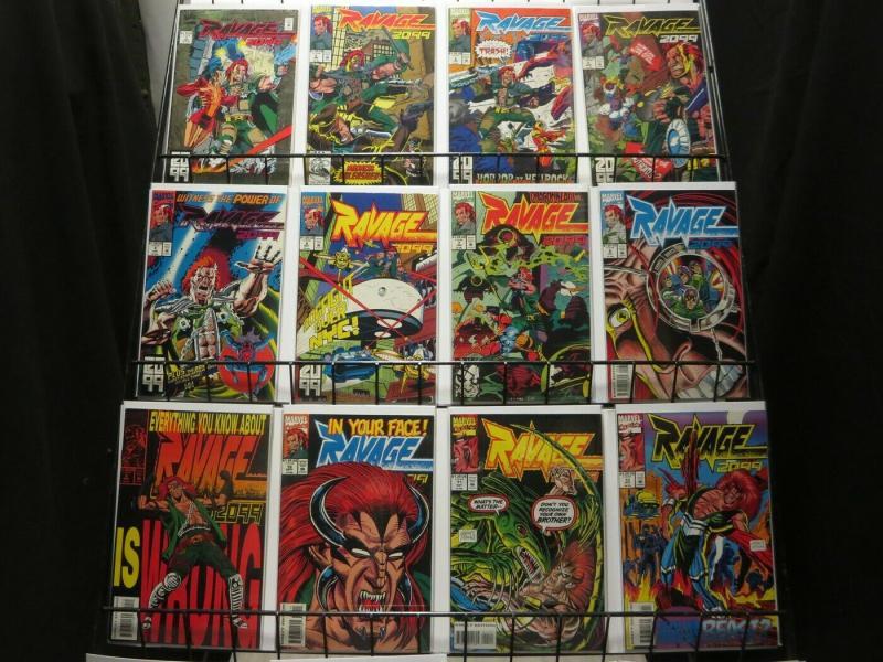 RAVAGE 2099 (1992) 1-33  LAST STAN LEE complete series